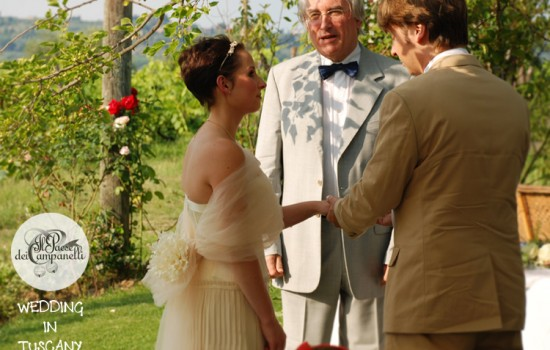 Marriage of  Tobias & Catie in Tuscany