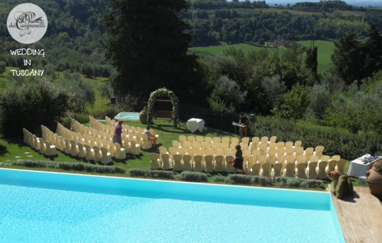 Location for wedding in Tuscany